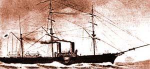 回天丸:榎本脱走艦隊の主力艦で宮古湾海戦では孤軍奮闘した回天丸【軍艦 幕末写真館】