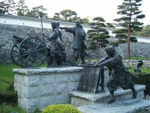 二本松城:戊辰戦争中二本松少年隊の悲劇で知られる二本松城【お城 幕末写真館】